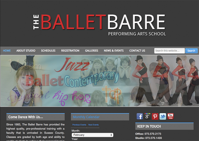 The Ballet Barre