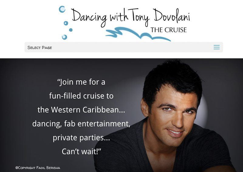 Tony Dovolani Dance Cruise